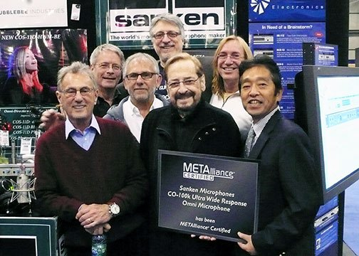 METAlliance Certifies CO-100K at AES 2011