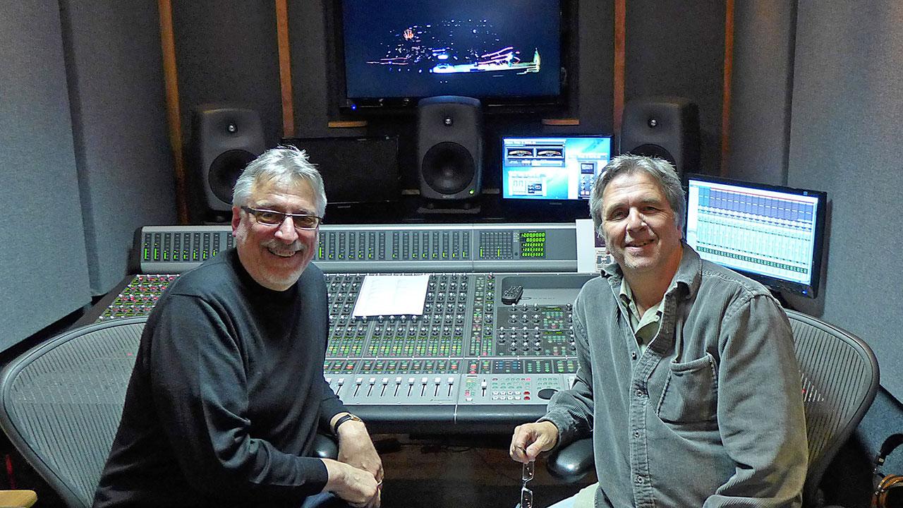 Frank Filipetti and Mark Linett