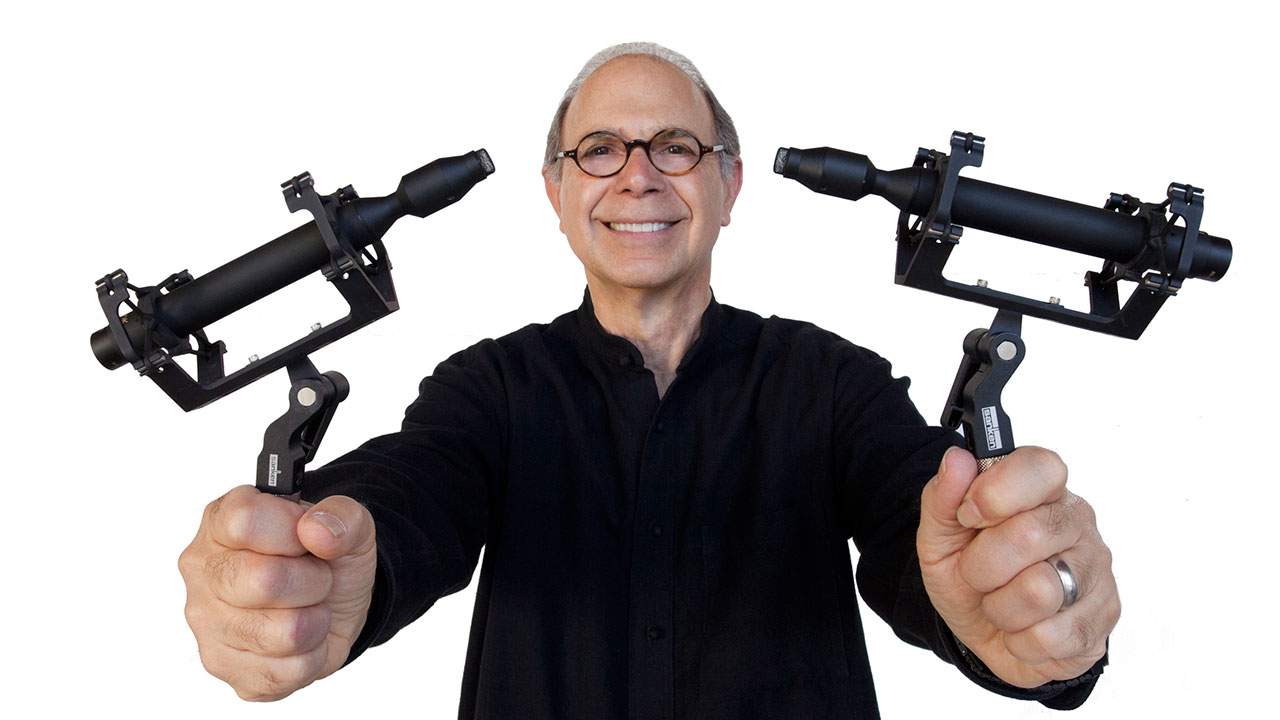 Bruce Botnick with Sanken CO-100K Mics