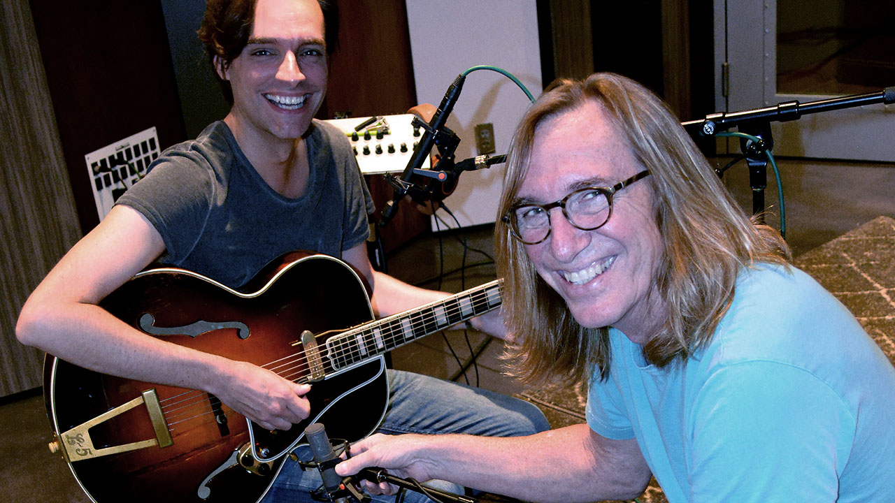 Guitarist, music director Marc Copely and producer, engineer Chuck Ainlay