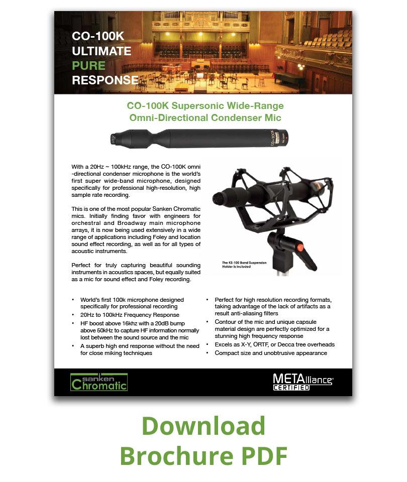 Brochure PDF CO-100K