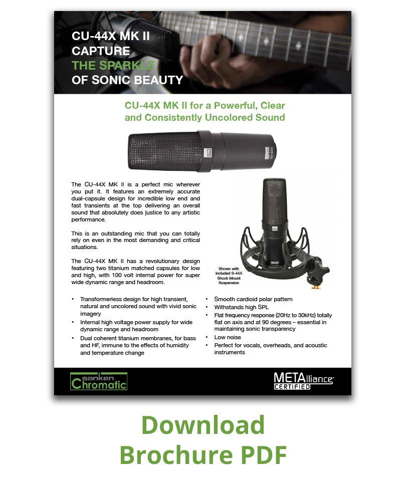 Brochure PDF CU-44X MK II
