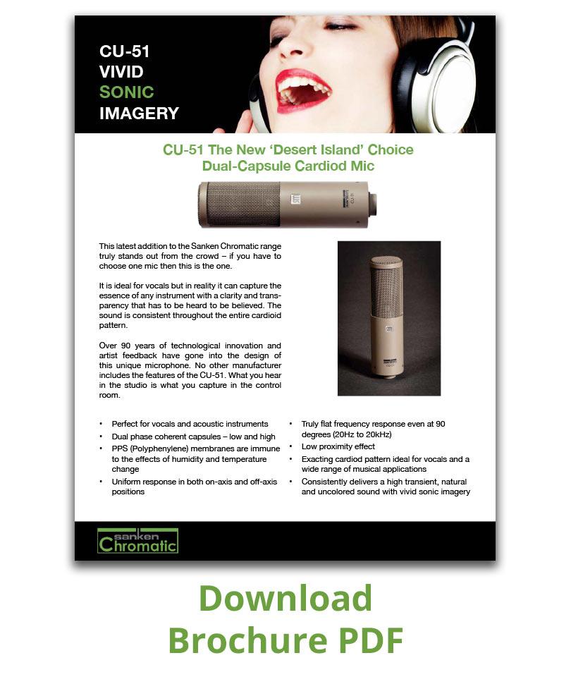 Brochure PDF CU-51