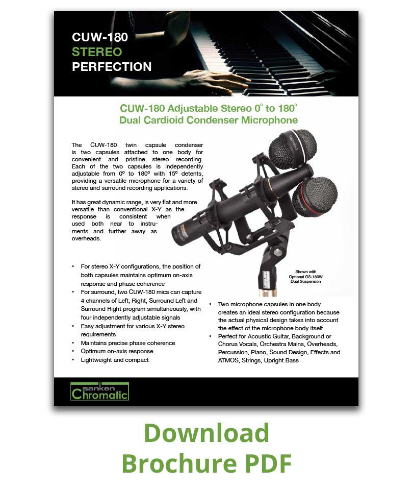Brochure PDF CUW-180