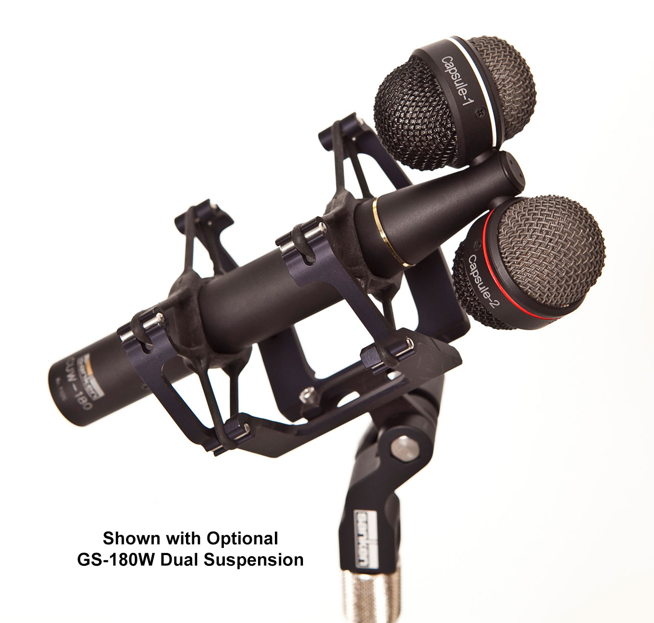 Sanken Chromatic CUW-180 with GS-180W Dual Suspension