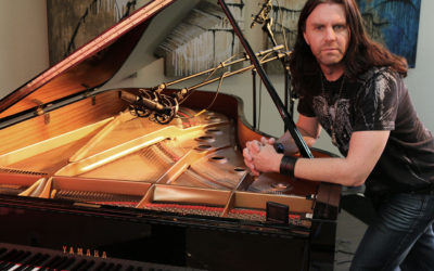 Rock Pianist Scott Davis Records With Sanken Chromatic Mics