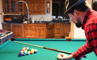 SnowGhost Turns Pool into Percussion with Sanken 100K Mics