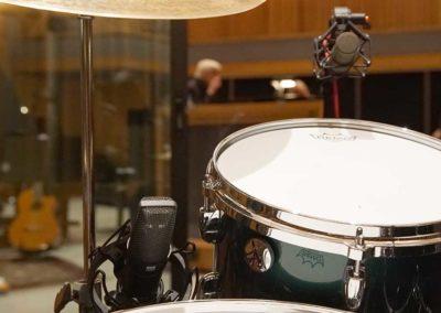 CU-44X MK II and CU-55 on Drums