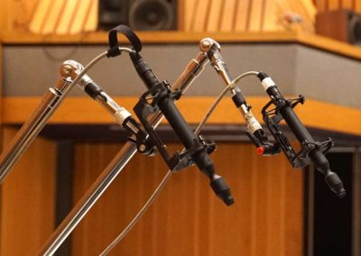Pair of CO-100K High-Resolution Mics as Piano Overheads