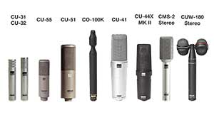 Sanken Chromatic Mics Product Range