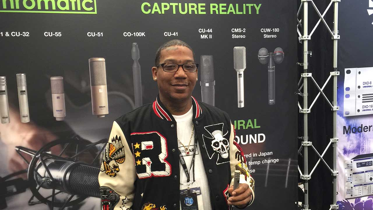 Sanken Chromatic NAMM 2019 Winner Allen Houston