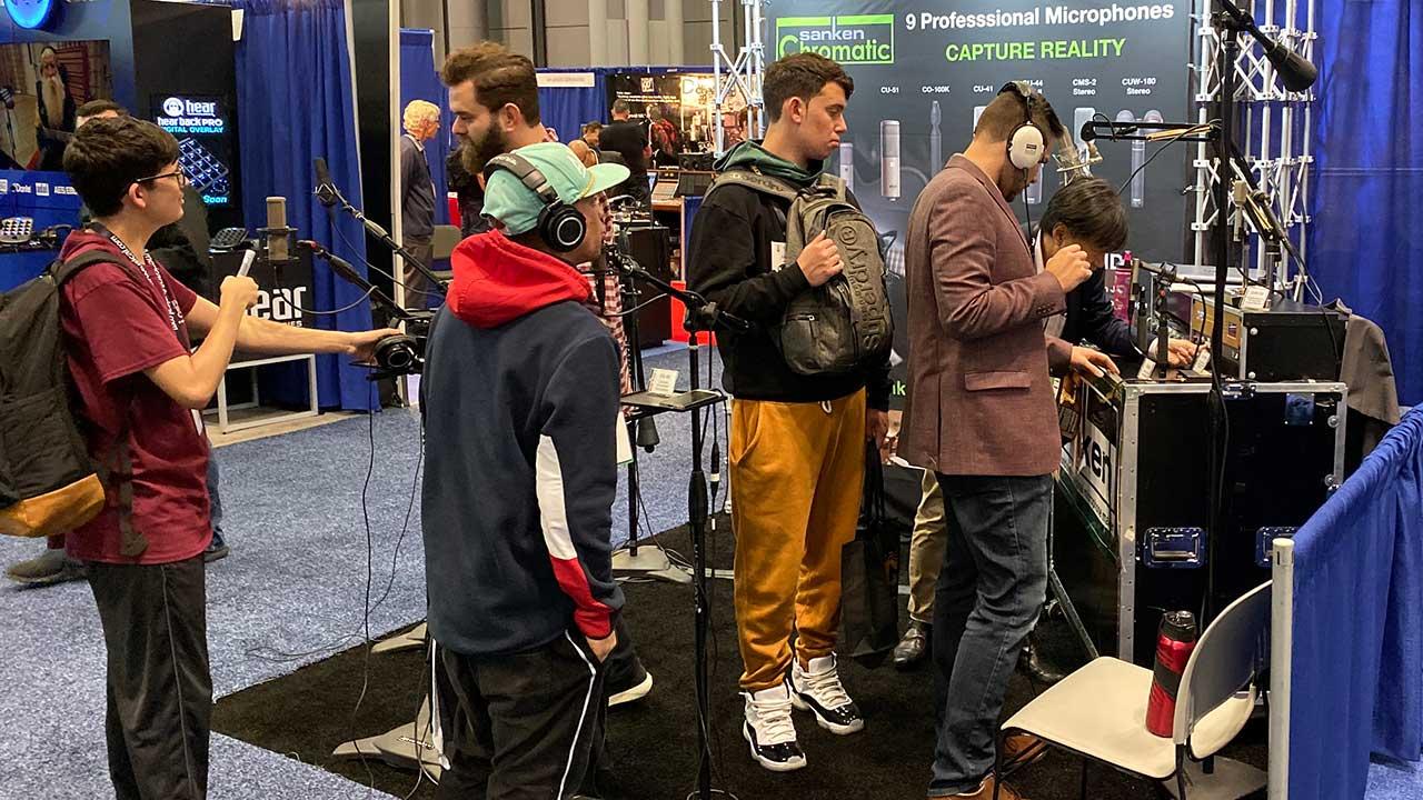Sanken Chromatic at AES NY 2019