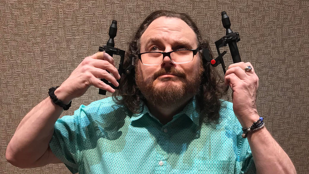 Ian Schreier Manifold with CO-100K pair of mics