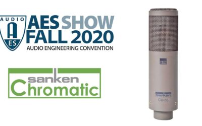 Sanken Showcases CU-55 Cardioid Mic at Virtual 149th AES