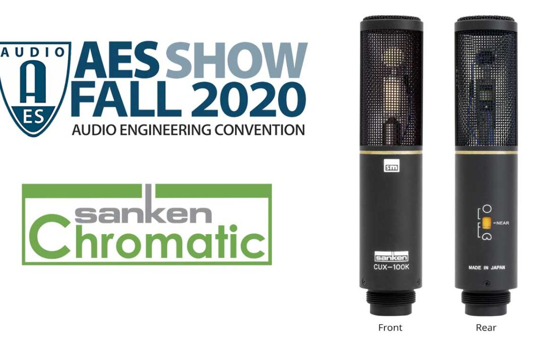 Sanken Premieres New CUX-100K at Virtual 149th AES