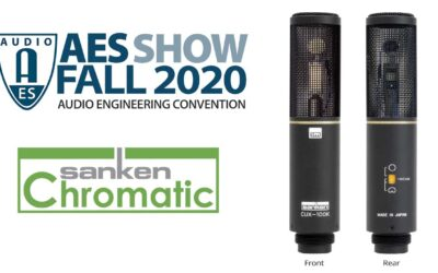 Sanken Premieres New CUX-100K at Virtual 149th AES